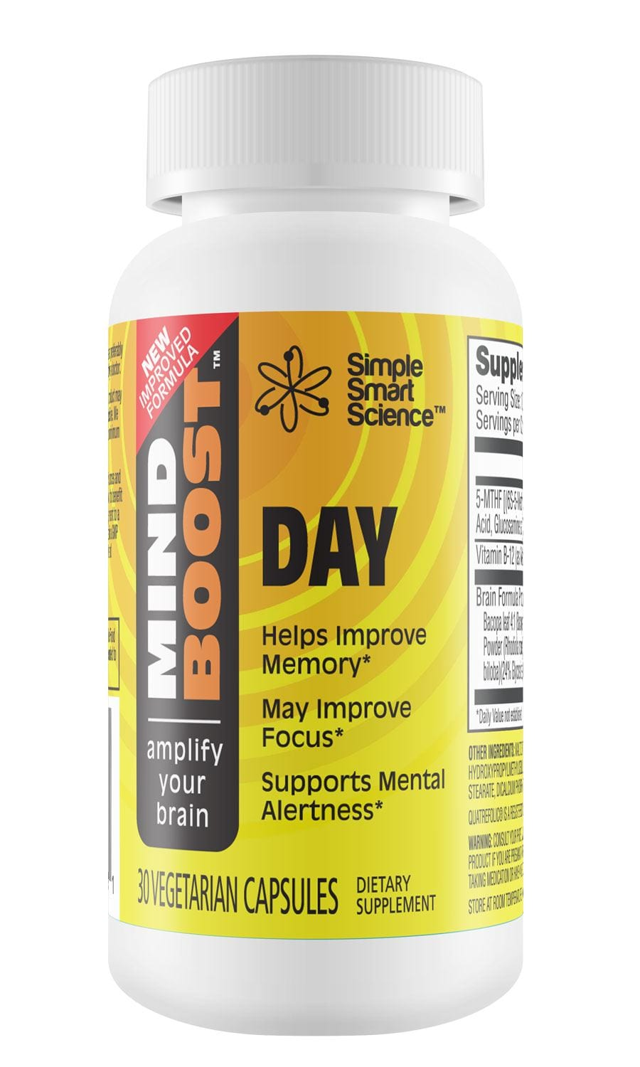 MindBoost Day Single Bottle