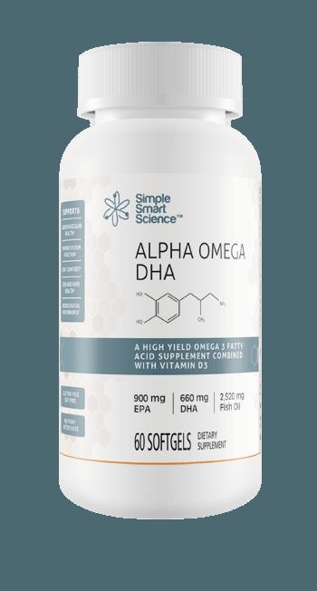 Alpha Omega-3 DHA Fish Oil