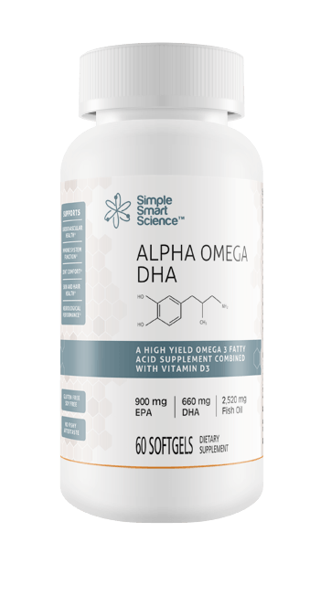 Alpha Omega-3 DHA Fish Oil